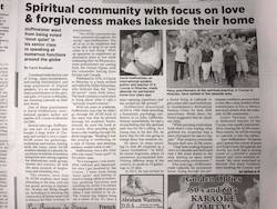 ACIM Mexico Community Newspaper Article Part 1